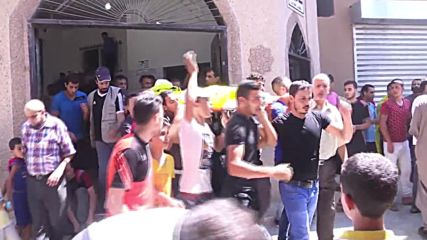 State of Palestine: Hundreds attend funeral of young Palestinian killed in protest against Israel
