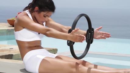 10 минути пилатес за облекчаване от стреса