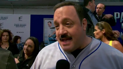 Kevin James At Premiere of 'Paul Blart: Mall Cop 2'