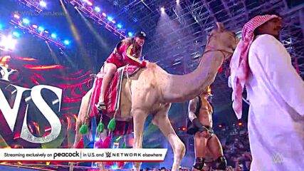 Riddle shocks Randy Orton with spectacular camel entrance: WWE Crown Jewel 2021 (WWE Network Exclusive)