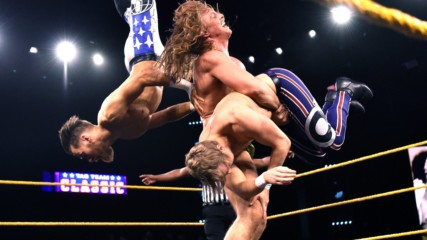 Matt Riddle & Pete Dunne vs. Mark Andrews & Flash Morgan Webster – Dusty Rhodes Tag Team Classic First Round Match: WW
