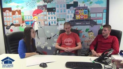 Интервю с Пресиян Данаилов и Даниел Петровалиев в NetInfo