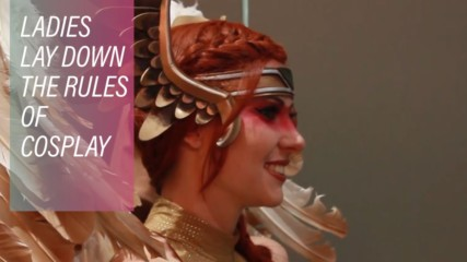 Ladies lay down the rules of cosplay