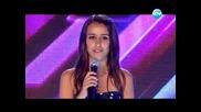 X Factor 2: 15-годишната Анна-мария пее страхотно на сцената (09.09.2013)