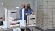 Canada: Conservative leader Erin O'Toole votes in snap election in Ontario