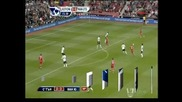 Саутхемптън - Манчестър Юн 2:3, Ван Перси с хеттрик за драматичната победа