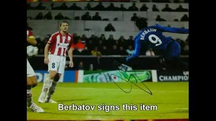 Бербатов раздава автографи 2