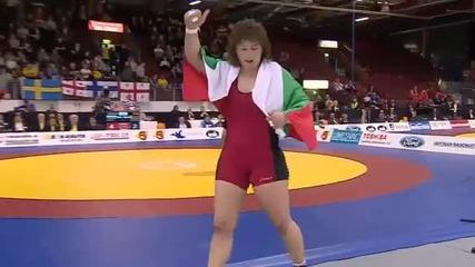 04.04.2014 Станка Златева е европейски шампион !