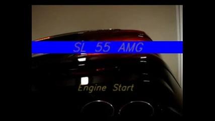 SL55AMG Vs SL65 AMG Разликите В Звука