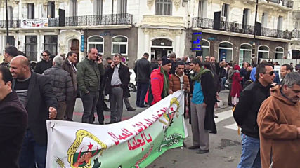 Algeria: Protesters rally in support of presidential election in Algiers