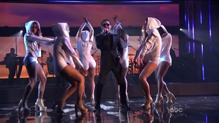 Pitbull - I Know You Want Me / Give Me Everything / Rain Over Me ( American Music Awards 2011 )