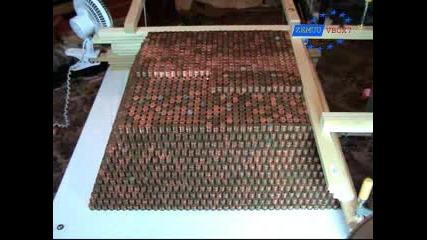 Световен Рекорд - Пирамида От Монети