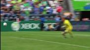 Първия гол на Еден Азар за Челси