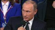 Russia: Putin uses his German skills to step in as translator