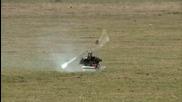 Самолет се врязва във хеликоптер