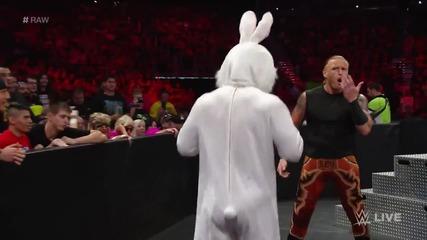 Adam Rose vs. Titus O'neil/ Адам Роус ср. Тайтъс О'нийл (еее гати заека)