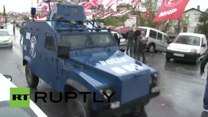 Turkey: Masked men open gunfire at election campaign bureau
