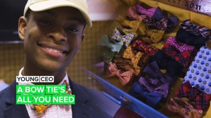 Young CEO: The dapper entrepreneur bringing bow ties back