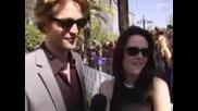 Kristen Stewart & Robert Pattinson Intervi