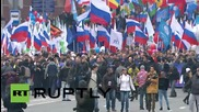 Russia: Moscow celebrates Unity Day with a huge march across capital