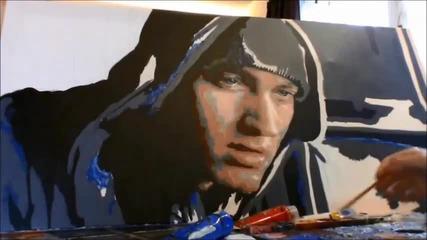 Портрет на Eminem от 8mile