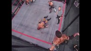 Steel Cage Match: Beer Money vs. Mcmg (best of 5 Series Match 3)
