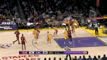 Cavs 57 - 112 Lakers 12.1.2011