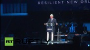 USA: Clinton praises New Orleans' progress ten years after Katrina
