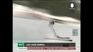 Доминик Парис спечели спускането в Лейк Луис