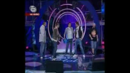 Music Idol 3 - 21.04.09г. - Гости: Хората от Гетото и Любо!