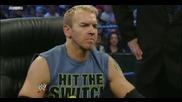 Wwe Smackdown 1.07.11 Sheamus Пребива Randy orton и Christian