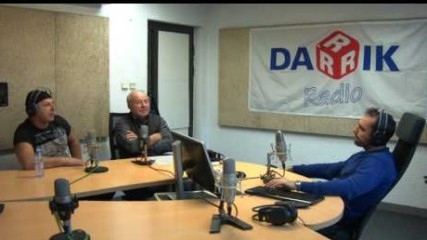 Баща и син Балкански гостуват на Дарик радио