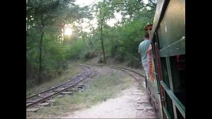 Детската железница в Кърджали