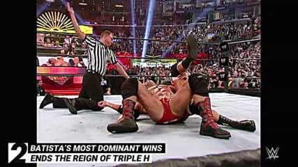 Batista's most dominant wins: WWE Top 10, May 9, 2021