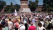 Бългаско хоро в центъра на Милано