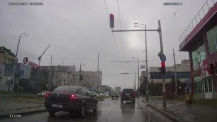 Минаване на червен светофар 45