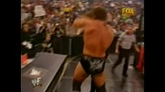 W W F / Kane vs Stone Cold Steve Austin and Triple H
