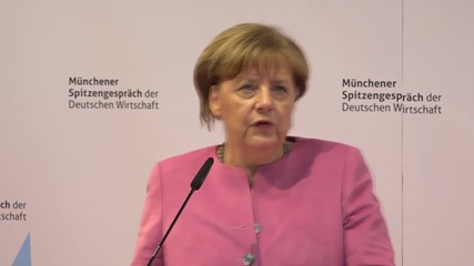 Germany: Merkel underlines positives of the refugee influx for German industry