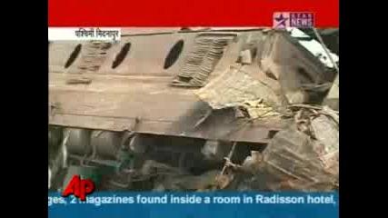 Train Blast в Индия убива десетки