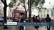 Франция отчете над 16 000 нови инфекции от COVID-19, наложи допълнителни ограничения