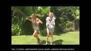 Berta Collado y Patricia Conde acepta el Ice Bucket Challenge,desafío cubo de Hielo,reto agua helada