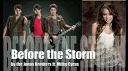 Before the Storm by the Jonas Brothers ft. Miley Cyrus - Full Hq Studio Version