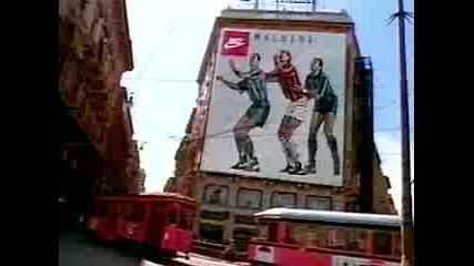Реклама - Nike Футболисти От Плакати