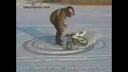 Мини Моторче На Сняг