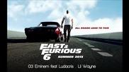 Fast & Furious 6- Eminem Feat. Ludacris & Lil Wayne - Second Chance (dj Ms7 Club mix)