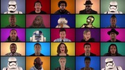 Jimmy Fallon, The Roots & Star Wars The Force Awakens Cast Sing Star Wars Medley (a Cappella)