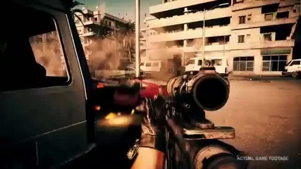 Battlefield 3 - New Gameplay Trailer Hd