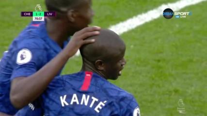 Магически пробив на Канте върна Челси в играта