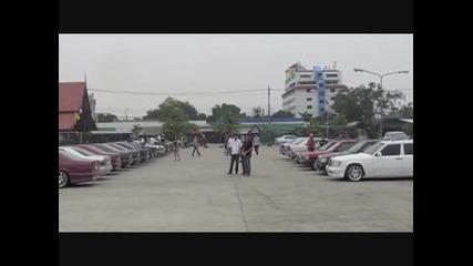 Събор на Мерцедес W124 Ce в Тайланд - 2011