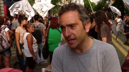 Argentina: Hundreds protest political leader Milagro Sala's detention